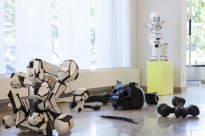 ausstellung weder schwarz noch wei stern wywiol galerie. Black Bedroom Furniture Sets. Home Design Ideas